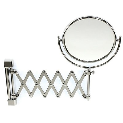 Windisch by Nameeks Wall Mounted Extendable Double Face Magnifying Mirror WYF078279415601