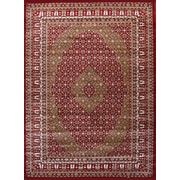 Rug and Decor Inc. Gulistan Power Loomed Burgundy Area Rug; Runner 2' x 7'