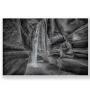 Two Palms Art Bazaar 'Caves and Canyons' Wall Art on Plaque; 38.6'' H x 58'' W x 1'' D