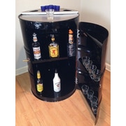 Drum Works Furniture Loft Bar Cabinet