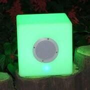 Bellini Light Cube Ottoman w/ Speaker