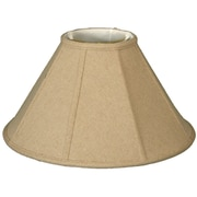 RoyalDesigns Timeless 22'' Linen Empire Lamp Shade; Cream