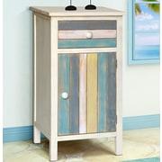 Gallerie Decor Seaside 1 Drawer and 1 Door Cabinet