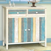 Gallerie Decor Seaside 2 Drawer and 2 Doors Cabinet