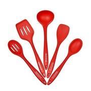 Welland Industries LLC 5 Piece Premium Silicone Kitchen Utensil Set