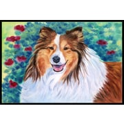 Caroline's Treasures Sheltie Doormat; 1'6'' x 2'3''