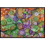 Caroline's Treasures Abstract Doormat; 1'6'' x 2'3''