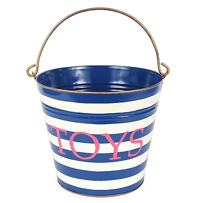 Jayes Horizontal Stripes Toys Pail WYF078279242942