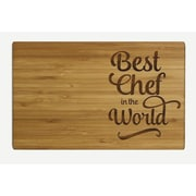 Koyal Wholesale ''Best Chef in the World'' Wood Cutting Board