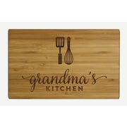 Koyal Wholesale ''Grandma's Kitchen'' Wood Cutting Board
