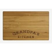 Koyal Wholesale ''Grandpa's Kitchen'' Wood Cutting Board