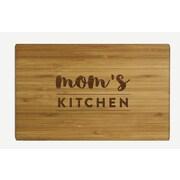 Koyal Wholesale ''Mom's Kitchen'' Wood Cutting Board