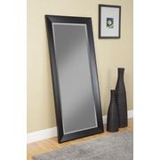 Sandberg Furniture Contemporary Full Length Mirror; Silver