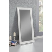 Sandberg Furniture Contemporary Full Length Mirror; White