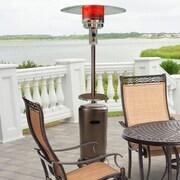 Hanover 41,000 BTU Steel Umbrella Propane Patio Heater; Hammered Bronze