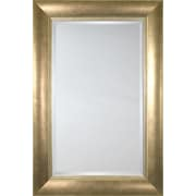 Mirror Image Home Mirror Style 80750 - Gunmetal with Taupe; 42.5 x 54.5