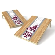 Tailgate Toss NCAA Hardwood Cornhole Game Set; Texas A&M Aggies