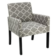 Cortesi Home Tegan Accent Armchair; Gray