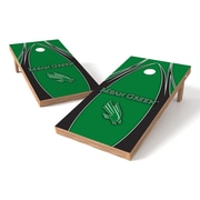 Tailgate Toss NCAA Cornhole Game Set; North Texas Mean Green