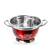 Imperial Home Stainless Steel Colander; 5'' H x 9'' W x 11'' D