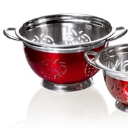 Imperial Home Stainless Steel Colander; 6'' H x 11'' W x 13'' D