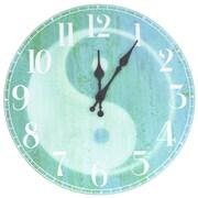 Oriental Furniture 13'' Yin Yang Wall Clock