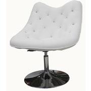 Whiteline Imports Sandy Lounge Chair; White