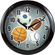 Ashton Sutton 9.75'' Sports Wall Clock