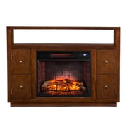 Wildon Home   Jennings Media Console/Stand Infrared Electric Fireplace
