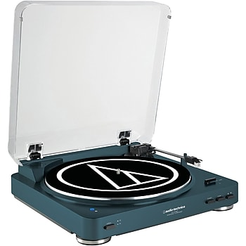 Audio Technica AT-LP60-BT Turntable + Klipsch R6 Headphone