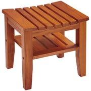 Conair Ptb7 Solid-Teak Spa Bench With Shelf