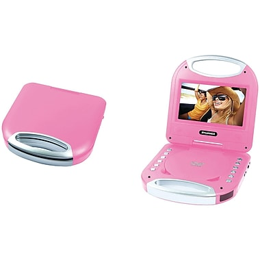 Sylvania Sdvd7049 Pink 7 Quot Portable Dvd Player With
