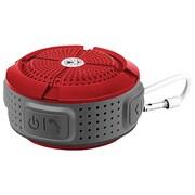 Coleman Cbt11-R Aktiv Sounds Waterproof Bluetooth Speaker (Red)