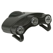 Cyclops Cyc-Hc1-W Orion Hat Clip Light With 3 Clear Led Lights