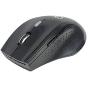 Manhattan 179386 Curve Wireless Optical Mouse (Black)