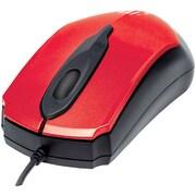 Manhattan 179430 Edge Optical Usb Mouse (Red/Black)