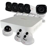 Revo Rup81Bndl-1 Ultra Plus 8-Channel 2Tb Ip Nvr With 4 Bullet, 2 Turret, 1 Ultra Plus Bullet & 1 Ultra Plus Dome Cameras