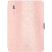 "Speck 77642-5562 Ipad Pro 9.7""/Ipad Air 2/Ipad Air Stylefolio Luxe (Metallic Ponyhair Rose Gold/Graphite Gray)"