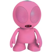 Supersonic Sc-1453Bt Pink Bluetooth Alien Portable Speaker (Pink)
