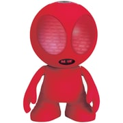 Supersonic Sc-1453Bt Red Bluetooth Alien Portable Speaker (Red)
