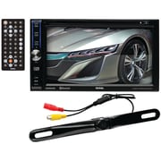"Soundstorm Dd764Br 6.2"" Double-Din In-Dash Touchscreen Dvd Receiver With Bluetooth (With Backup Camera)"