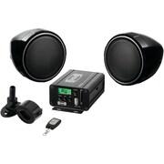 Soundstorm Smc75 Motorcycle/Utv 600-Watt Amp & Speaker System With Built-In Fm Tuner