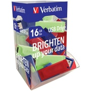 Verbatim 99189 16Gb Usb Flash Drives, 50 Ct