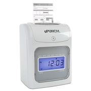 uPunch HN4000SC Electronic Calculating Punch Card Time Clock Bundle