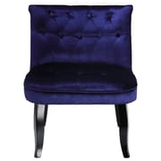 Cortesi Home Adelia Velvet Slipper Chair