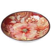 Certified International Watercolor Poppies Serving/Pasta Bowl