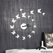 Vandue Corporation Modern Home 11'' DIY 3D Wall Clock