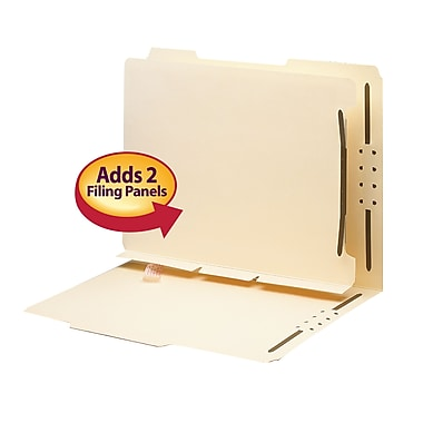 Smead® Self-Adhesive Folder Divider, 1