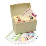 Smead®  AlphaZ NCC Color-Coded Name Label, A-Z, Label Sheet, Assorted Colors (67150)