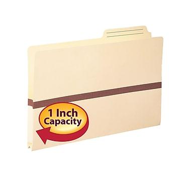 Smead® File Pocket, 2/5-Cut Printed Tab, Tyvek®-reinforced, Legal Size, Manila, 50/Box (76487)